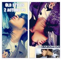 Old Styles PS Actions by Loviyou