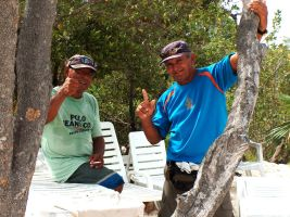Humble Workers in Cayo Coco by LetinhaMyAngel