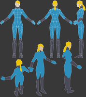 Zero Suit low poly by tigr3ss