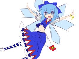 Cirno festival design by watermelon-clock