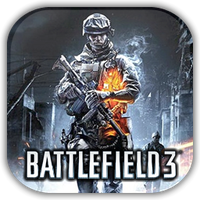 Battlefield 3 Game Icon by Wolfangraul