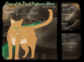 Lionleap(Star) Character Sheet 2012 by Laufeiia
