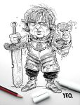 Tyrion Lannister -  Game of Thrones by ShaunYeo
