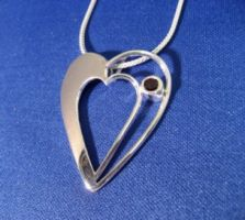Another Heart Pendant by GipsonDiamondJeweler