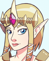 Hyrule Warriors - Zelda by Undead-Niklos