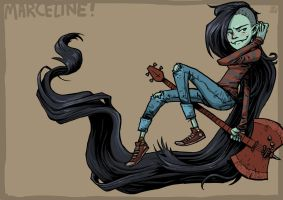 Marceline the Vampire Queen by jonasGOONFACE