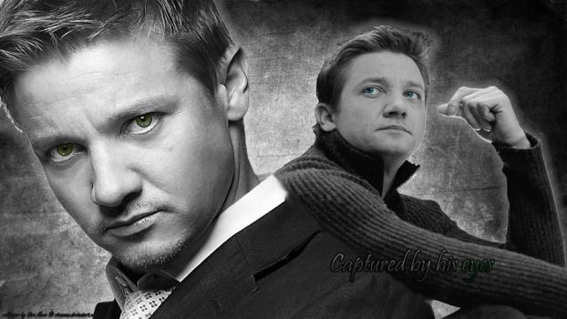Jeremy Renner - Captured by his eyes by ViraMors