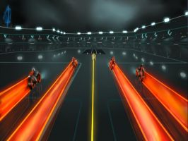 Arena Lightcycles by ATTMUD24PL