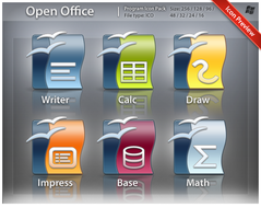 Icons Open Office Pack by ncrow