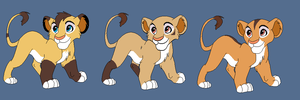 Cubs for Saphia-Xeno by BlackWolf1112-ADOPTS