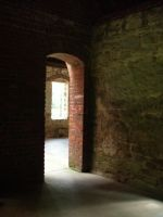 Squires Castle-Doorway by Rubyfire14-Stock