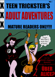 Teen Trickster's Adult Adventures Vol. 1 - Cover by ivy7om