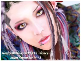 Miyavi . honey by hisaru