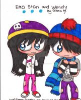 Emo Stan And Wendy by Violent-Rainbow