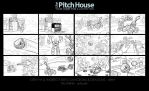 Kre-o Dungeons And Dragons Storyboard by timshinn73