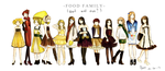 Food Family by hana-sakurano