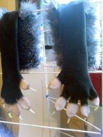 Opossum Handpaws by CuriousCreatures
