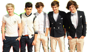 One Direction HD PNG by PauliSmiler