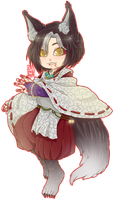 :Comm: Inugami by BlackMayo