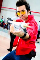 Travis Touchdown by MHirisitha