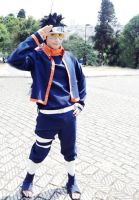 Uchiha Obito Cosplay: Kakashi Gaiden Version II by ivachuk