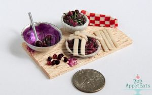 1:12 Cherry Pie Prep Board by Bon-AppetEats