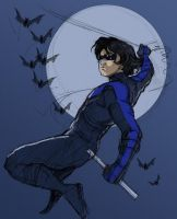 Nightwing by awabubbles