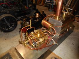 O/S Rutczykwerke Steam-Hydroplane Powerplant by steamby51