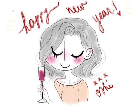 happy new year all! by Oshi13