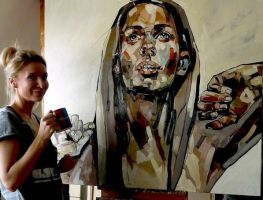 ARTISTS NAME IS 'Anna Bocek' by petersarts