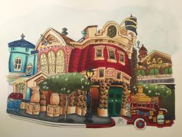 Toontown by AmandaM55
