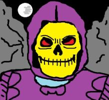 Skeletor in A Night in Eternia by Derfs-Domain