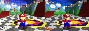 Super Mario 64 High Resolution Texture Pack by myownfriend