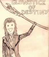 Glowstick of Destiny by Holleester