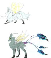 Hazel and Feather by FuneralDyingheart