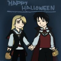 A RoyAi Halloween-Simple by 11KairiMayumi11