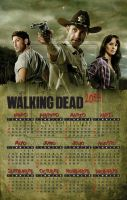 The Walking Dead calendar 2013 by rickymanson