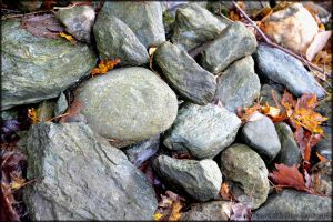 Autumn and Stones by Tramira