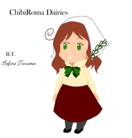 ChibiRoma Dairies Cover by sweetsnow73