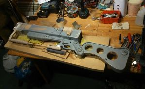 Fallout 3 AER9 Laser Rifle WIP 4 by Thomasotom