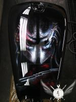 Predator Fuel Tank Paint Job by mad spark by madsparkairbrush