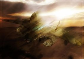 War Airplane by BK1LL3R
