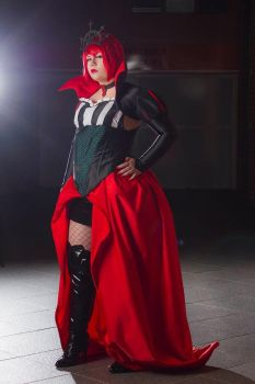 Madam Red - Queen of Hearts by FriedNordic