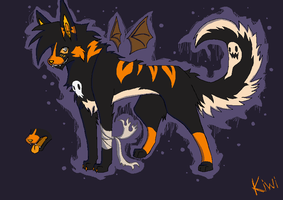 Halloween Sona by Kiwitiger