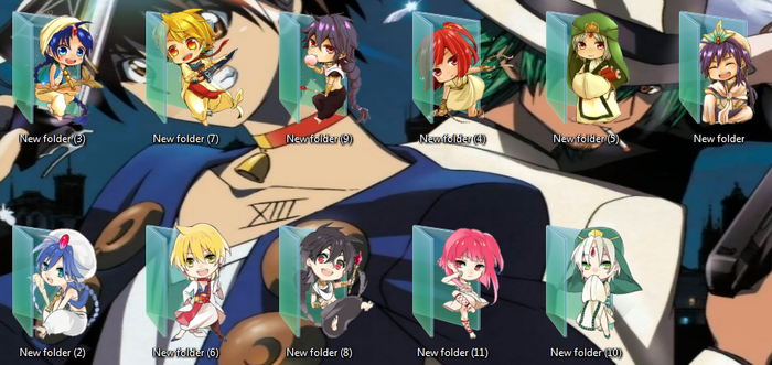 Magi Labyrinth of Magic Icons by Ginokami6