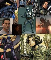 Collage of Jango Fett by LadyIlona1984