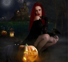 Waiting for Halloween..... by tinca2