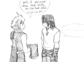 KH II: well, this is awkward. by sakurabatou