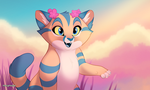 Sandcat by marymouse