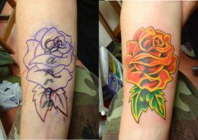 Rose cover-up by HowComeHesDead